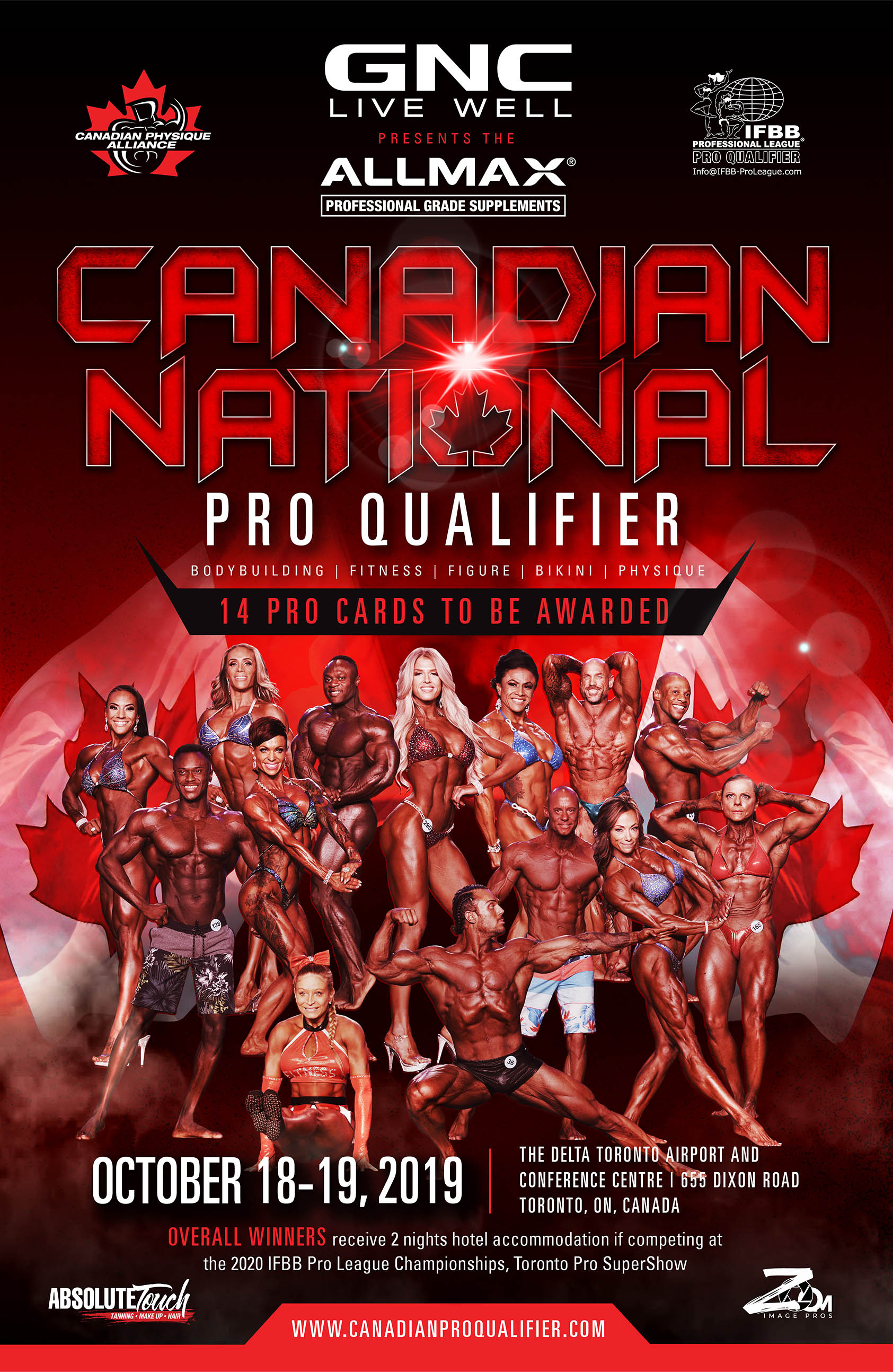 2019 GNC/Allmax Canadian National Pro Qualifier