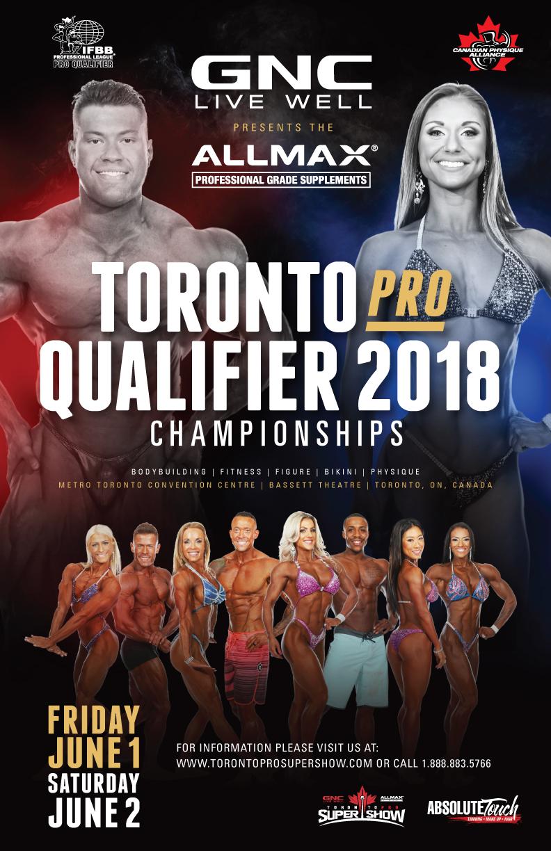 2018 GNC/Allmax IFBB Toronto Pro Qualifier (Finals) | CPA